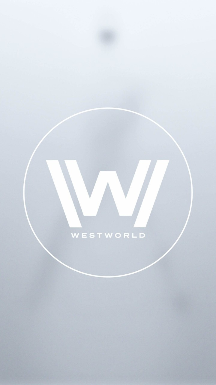 Westworld Logo Wallpaper for HTC One mini