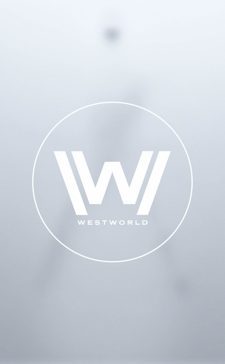Westworld Logo Wallpaper for Apple iPhone 4 / 4s