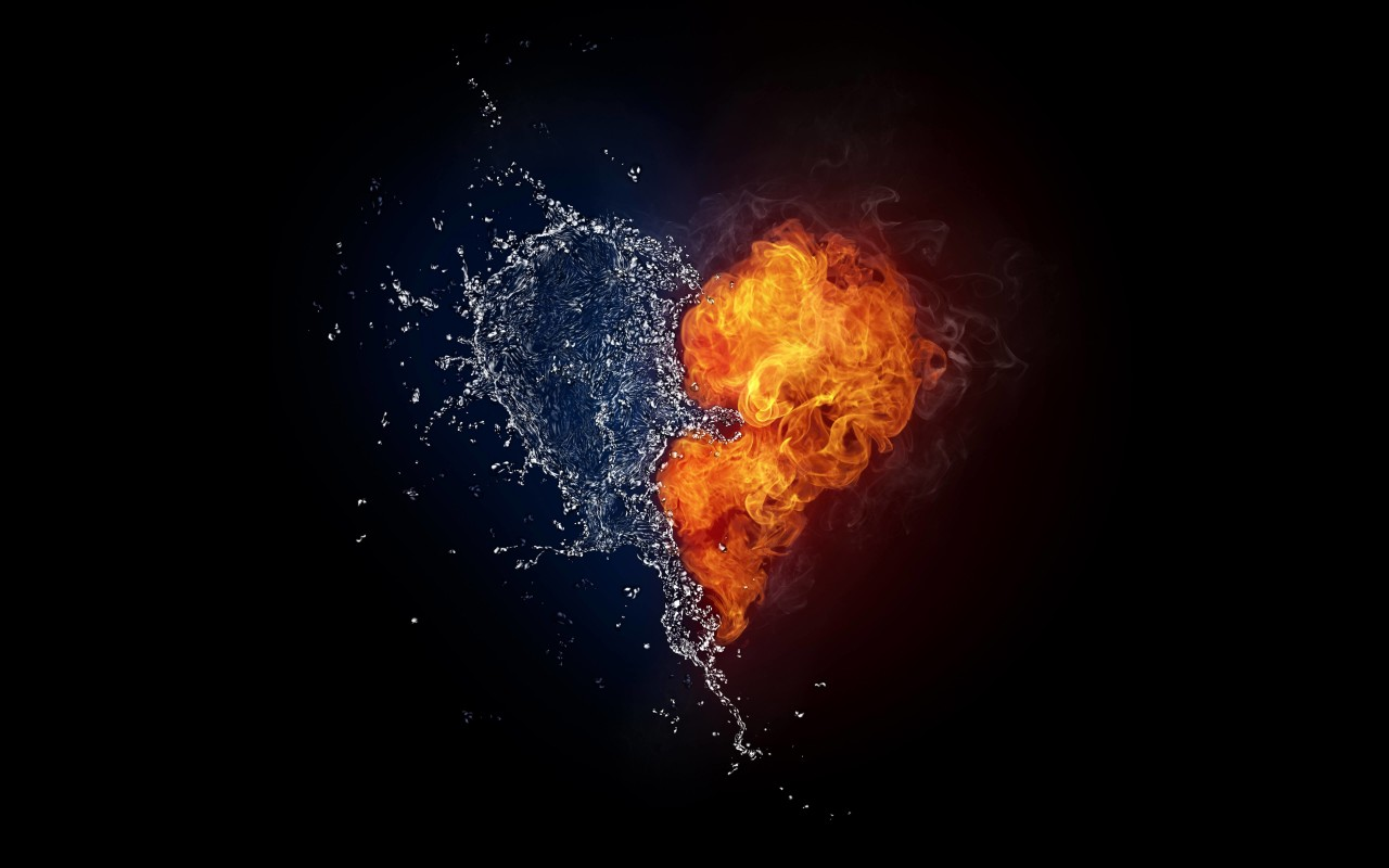 When Love and Hate Collide Wallpaper for Desktop 1280x800