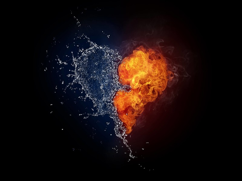 When Love and Hate Collide Wallpaper for Desktop 800x600