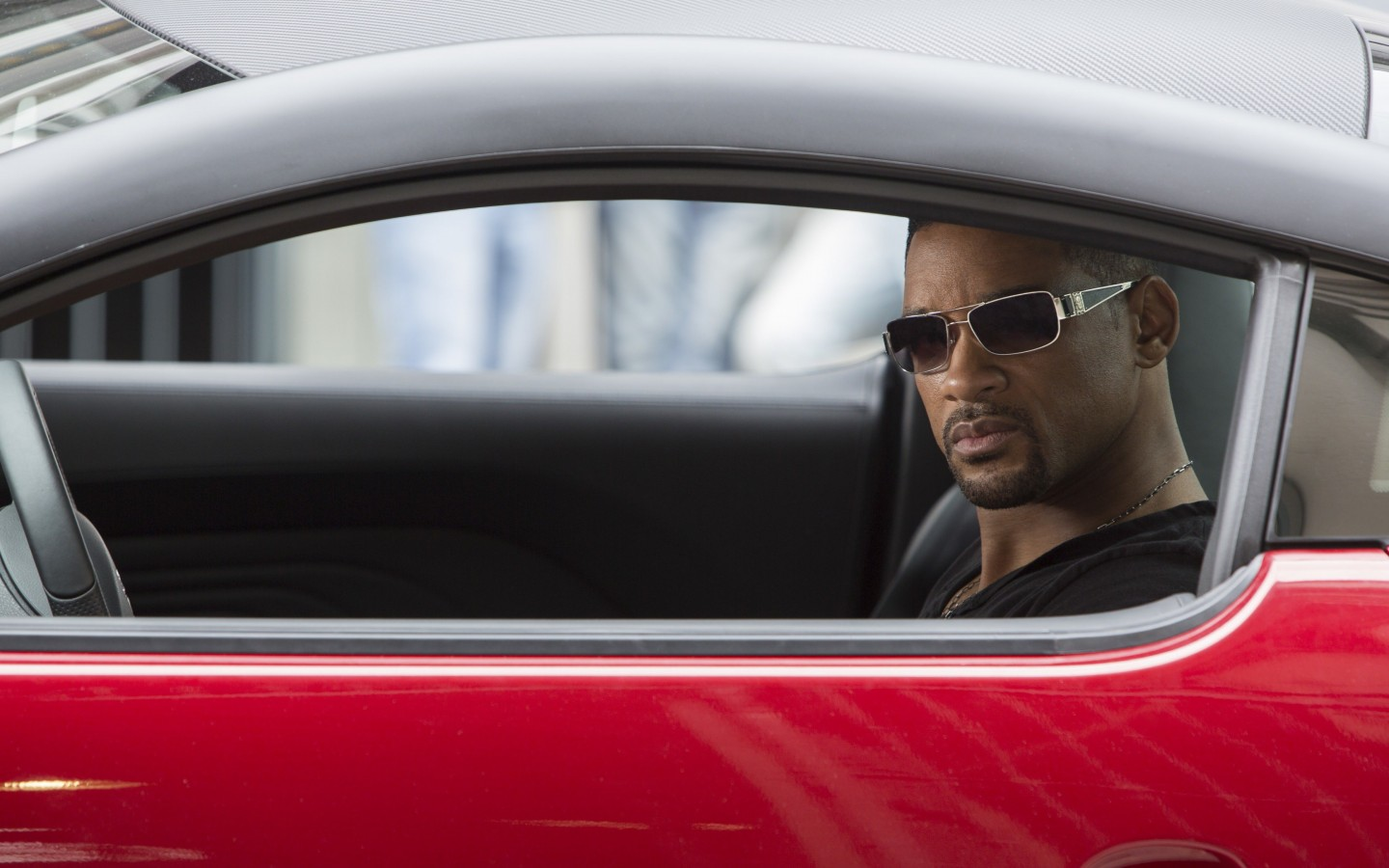 "Will Smith at the shooting of ""Focus"" Wallpaper for Desktop 1440x900"