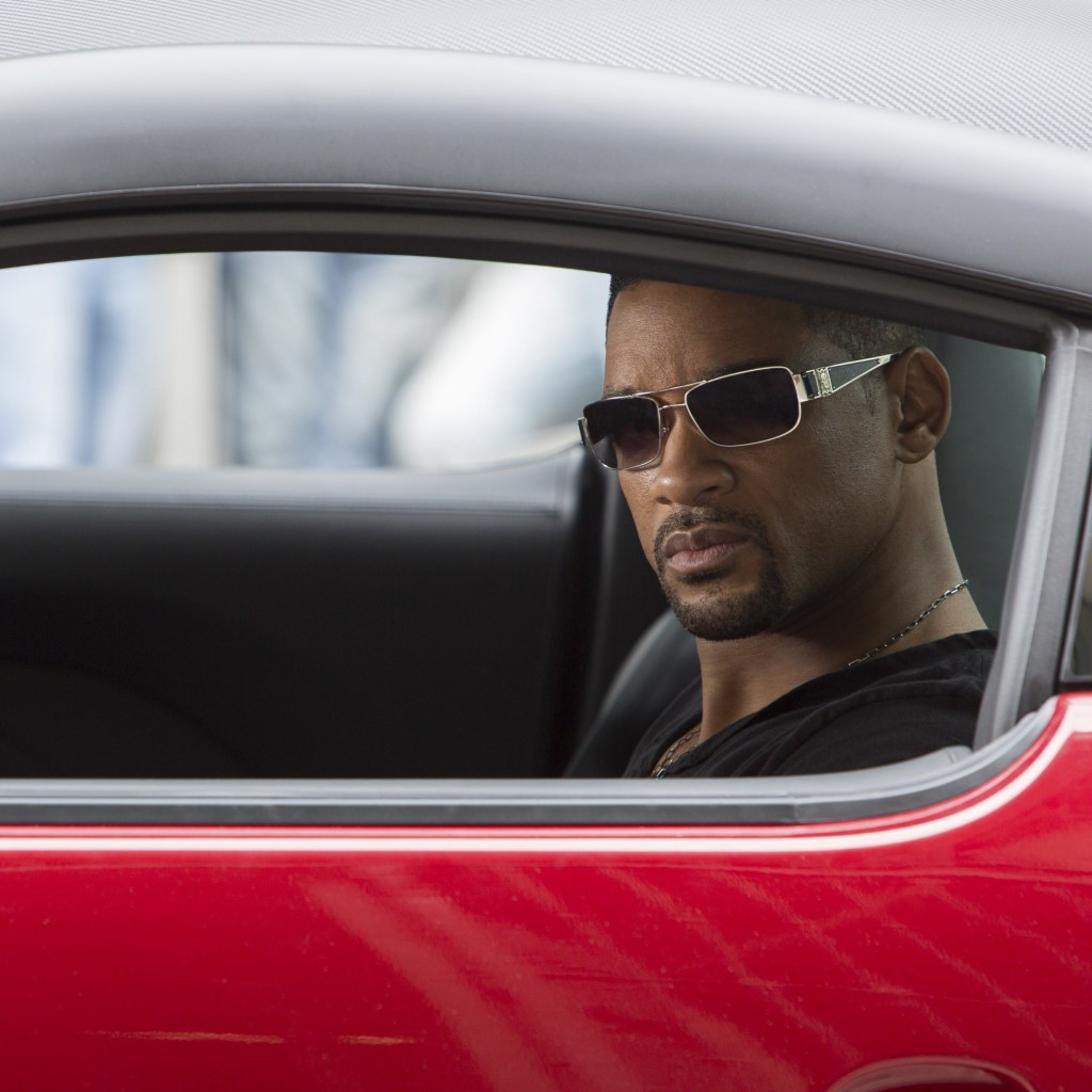 "Will Smith at the shooting of ""Focus"" Wallpaper for Apple iPad"