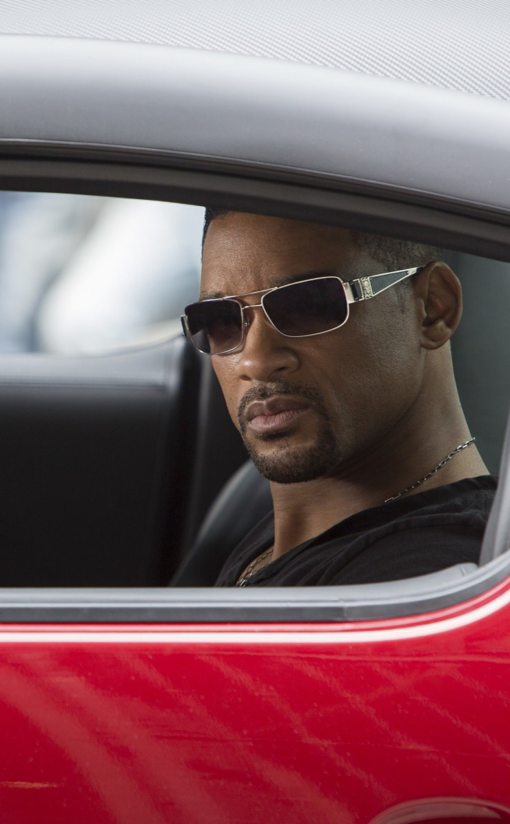 "Will Smith at the shooting of ""Focus"" Wallpaper for Apple iPhone 4 / 4s"