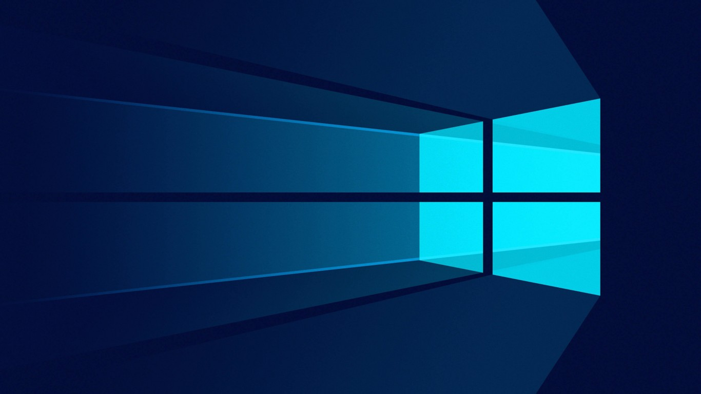 Download Windows 10 Flat HD Wallpaper For 1366 X 768