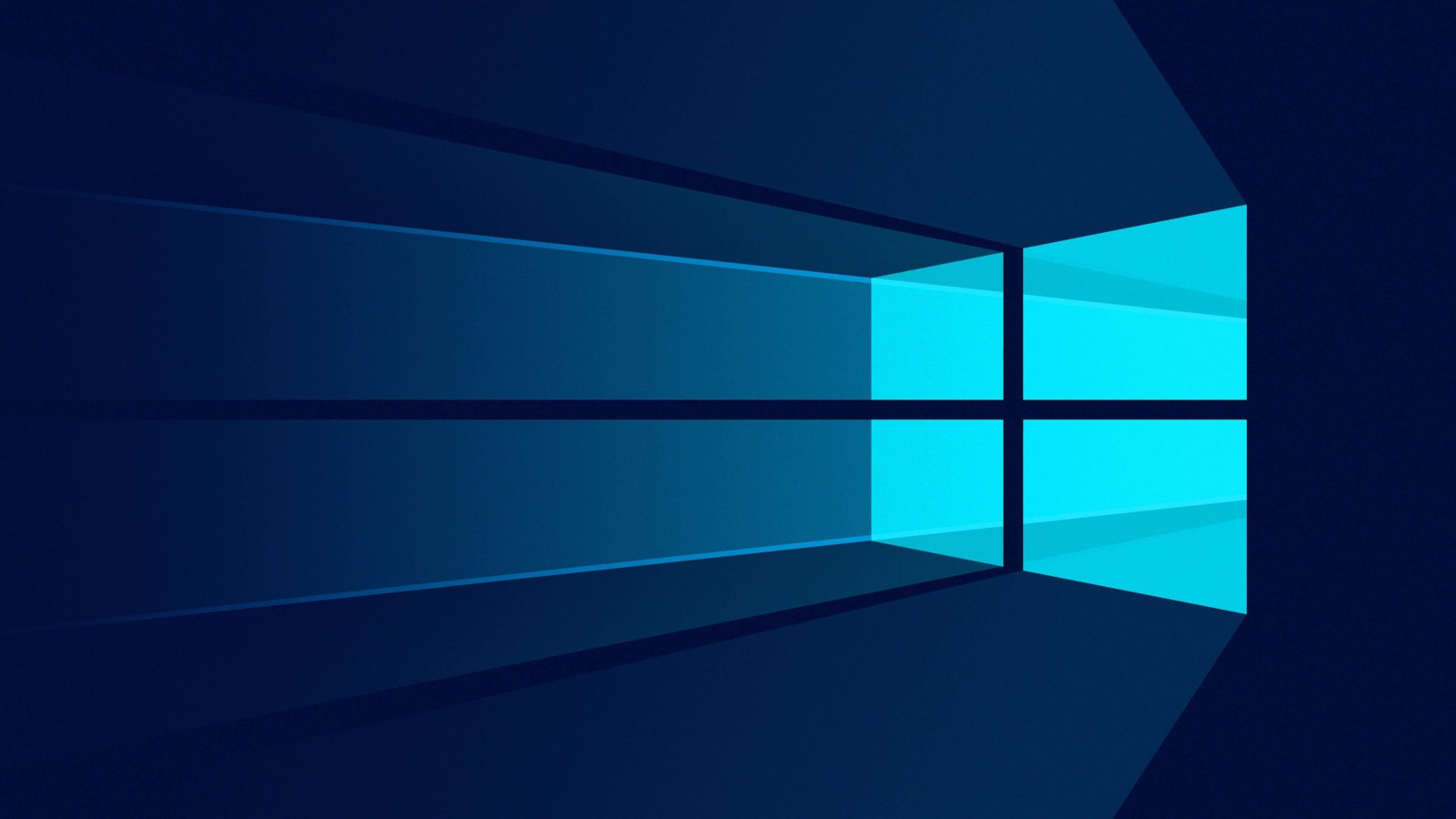 Windows 10 Flat Wallpaper for Desktop 1600x900