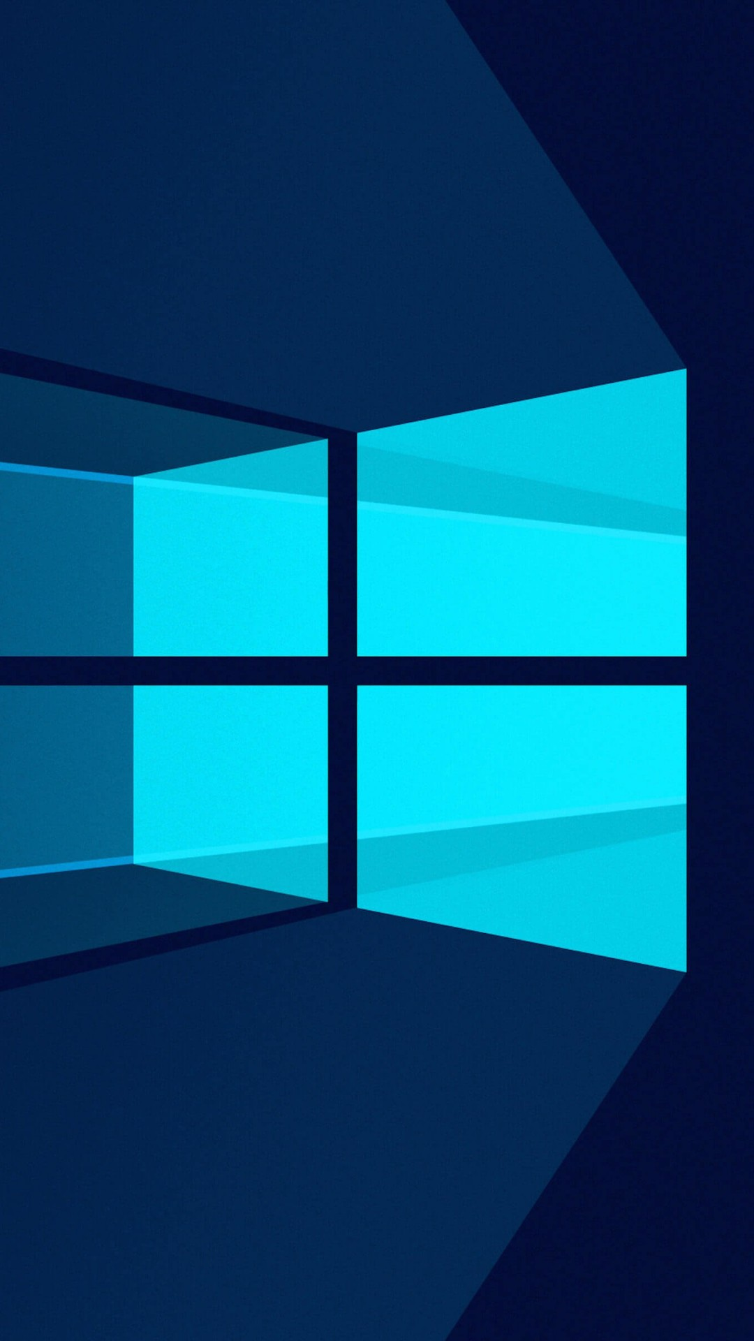Windows 10 Flat Wallpaper for HTC One