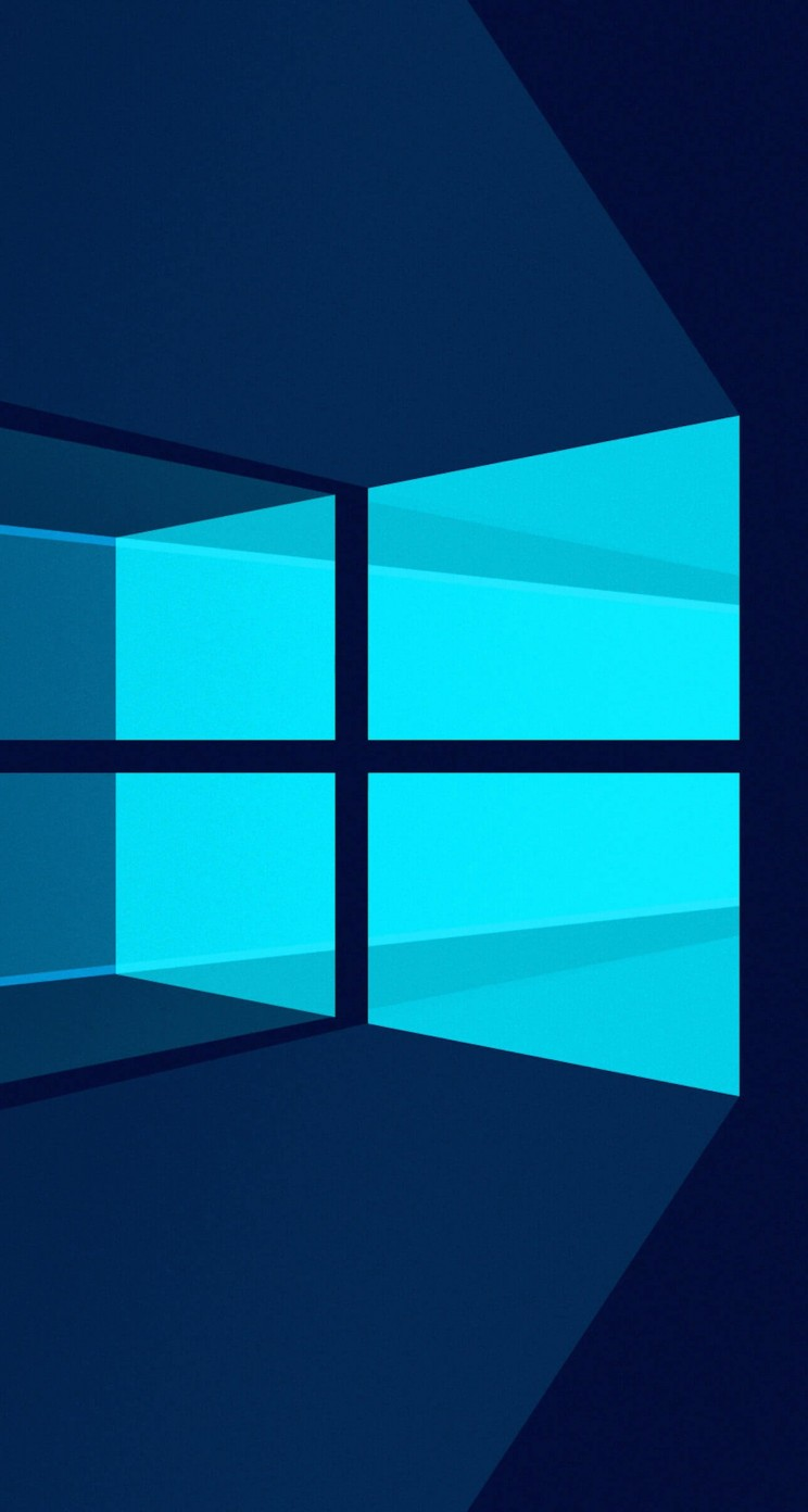 Windows 10 Flat Wallpaper for Apple iPhone 5 / 5s