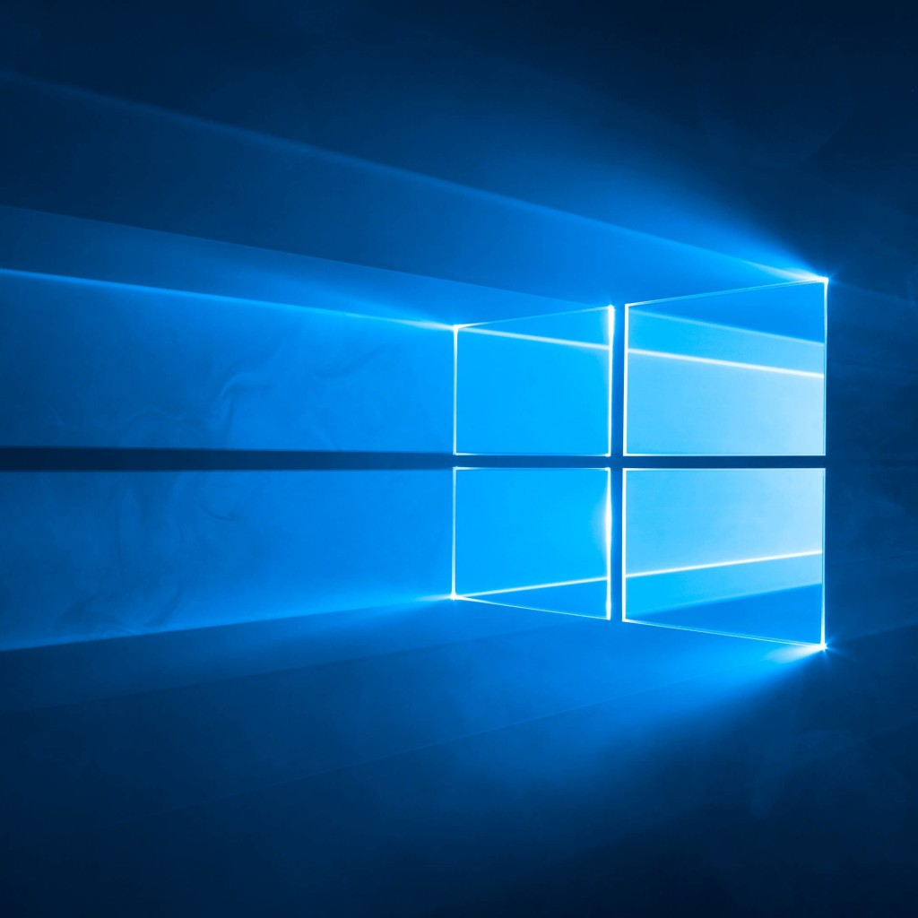 Windows 10 Official Wallpaper for Apple iPad