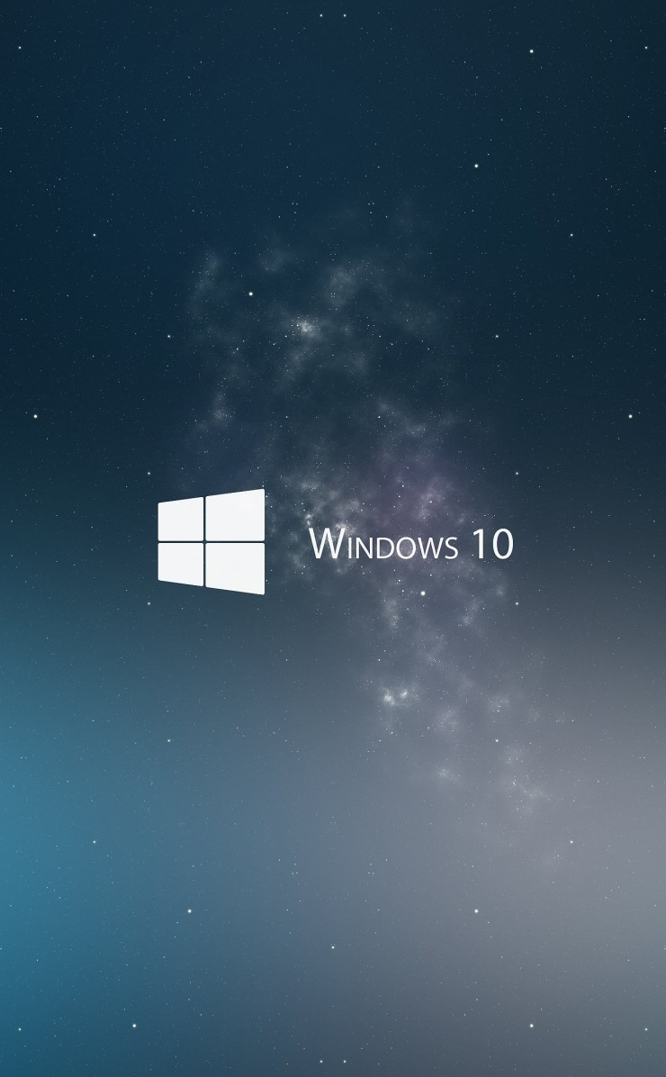 Windows 10 Wallpaper for Apple iPhone 4 / 4s