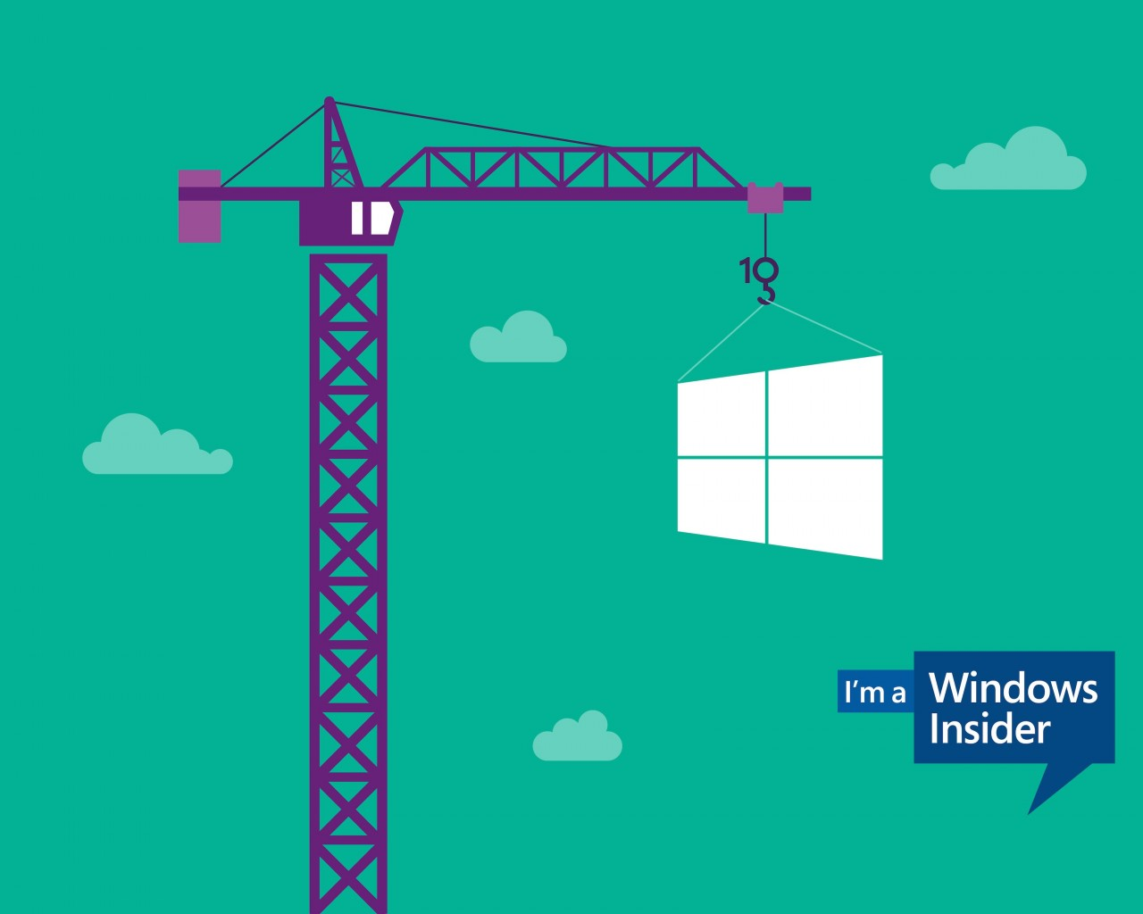 Windows Insider Wallpaper for Desktop 1280x1024