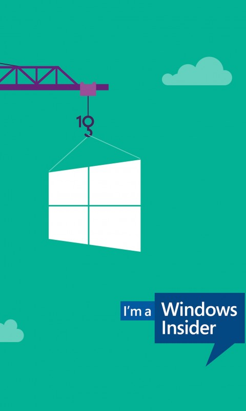 Windows Insider Wallpaper for SAMSUNG Galaxy S3 Mini