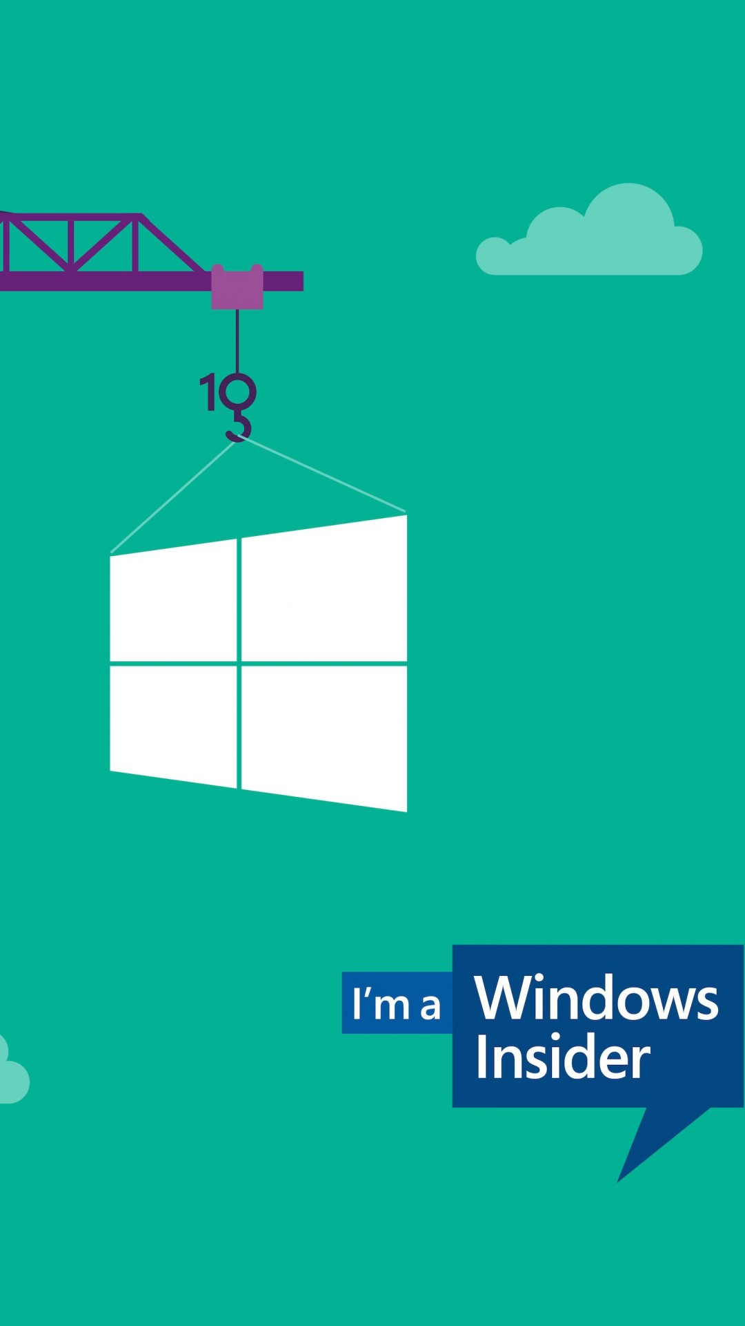 Windows Insider Wallpaper for HTC One