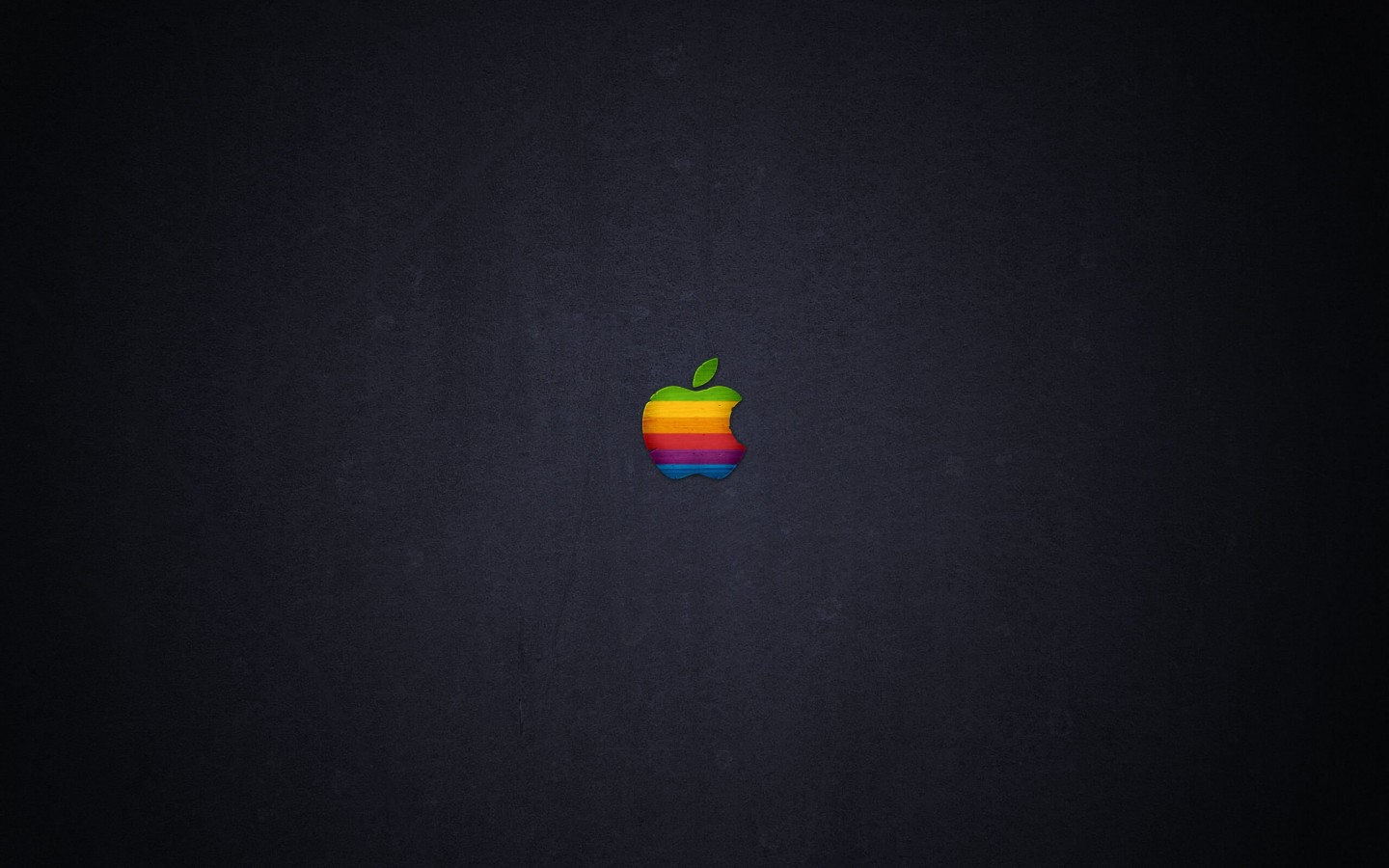 Wood Retro Apple Wallpaper for Desktop 1440x900