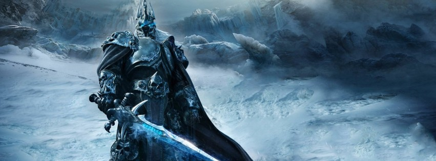 World of Warcraft: Wrath of the Lich King Wallpaper for Social Media Facebook Cover