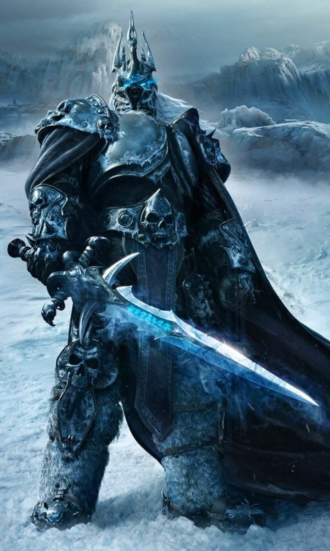 World of Warcraft: Wrath of the Lich King Wallpaper for HTC Desire HD