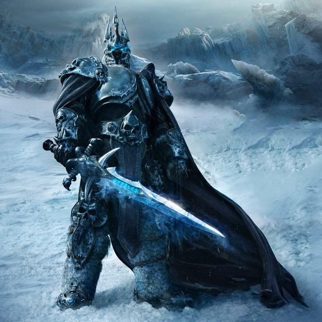 World of Warcraft: Wrath of the Lich King Wallpaper for Apple iPad