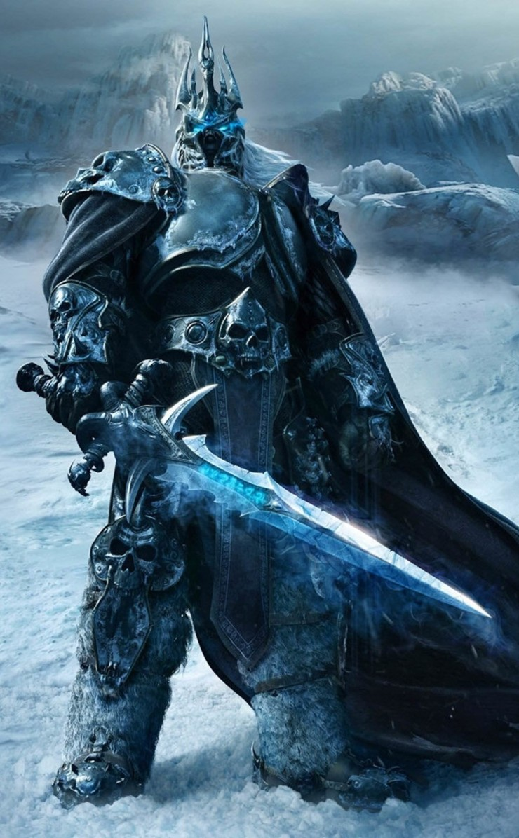 World of Warcraft: Wrath of the Lich King Wallpaper for Apple iPhone 4 / 4s
