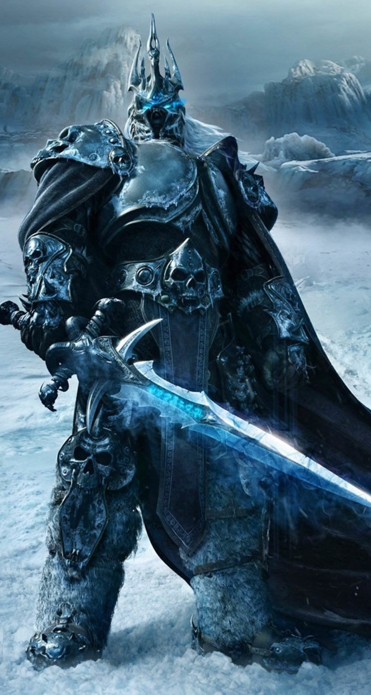 World of Warcraft: Wrath of the Lich King Wallpaper for Apple iPhone 5 / 5s