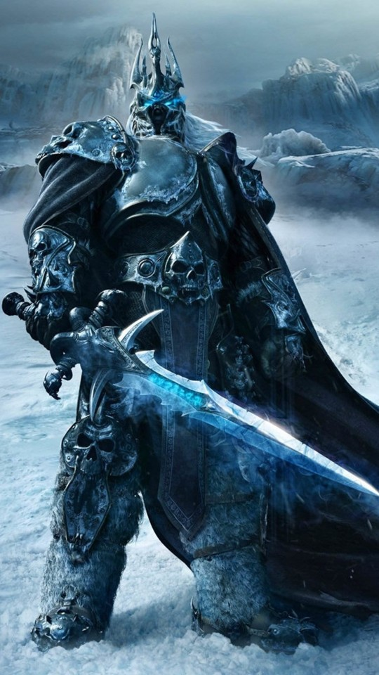 World of Warcraft: Wrath of the Lich King Wallpaper for Motorola Moto E