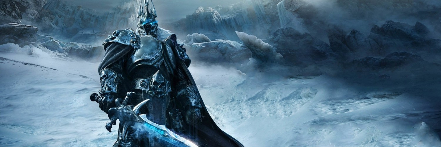 World of Warcraft: Wrath of the Lich King Wallpaper for Social Media Twitter Header