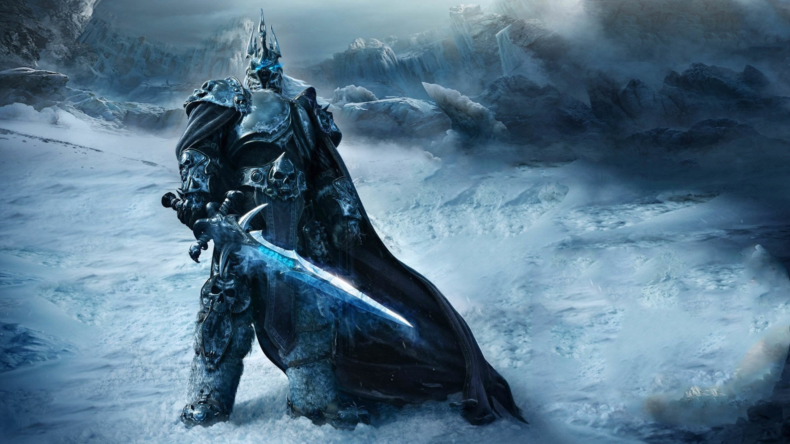 World of Warcraft: Wrath of the Lich King Wallpaper for Social Media YouTube Channel Art