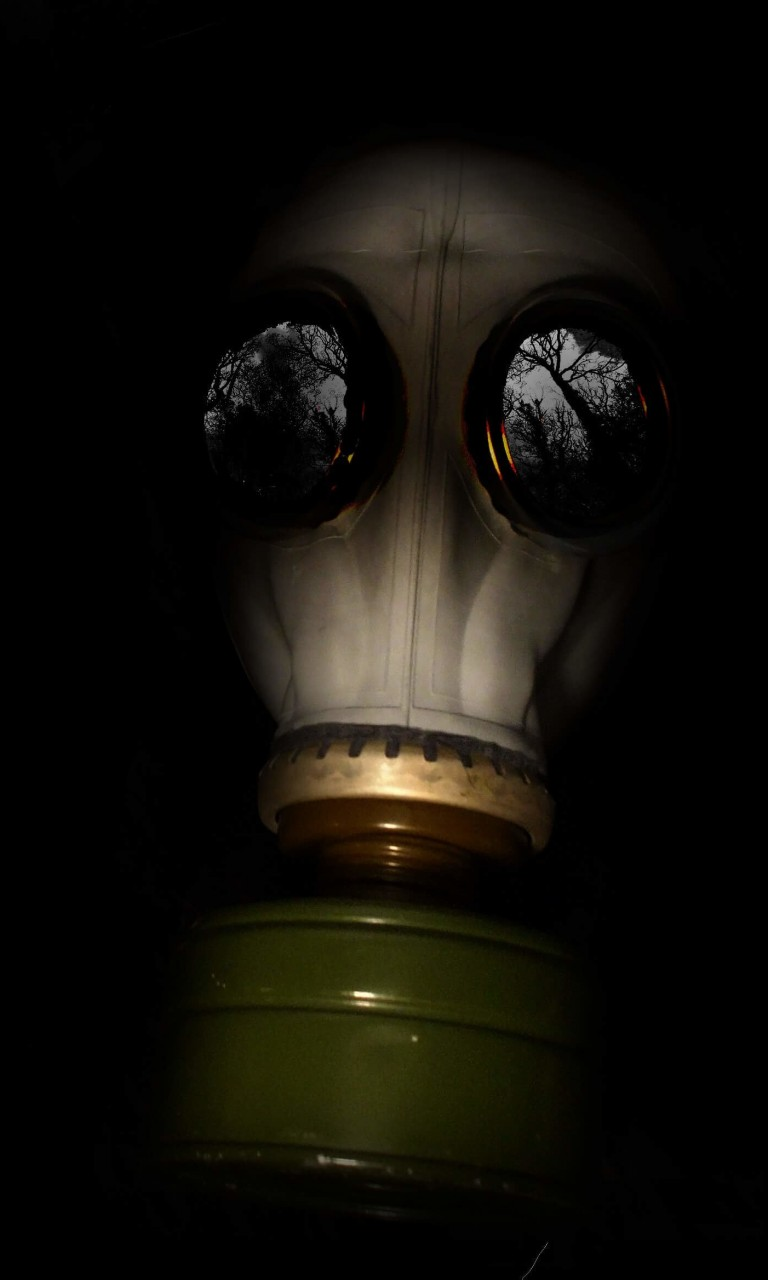 WWII Gas Mask Wallpaper for Google Nexus 4