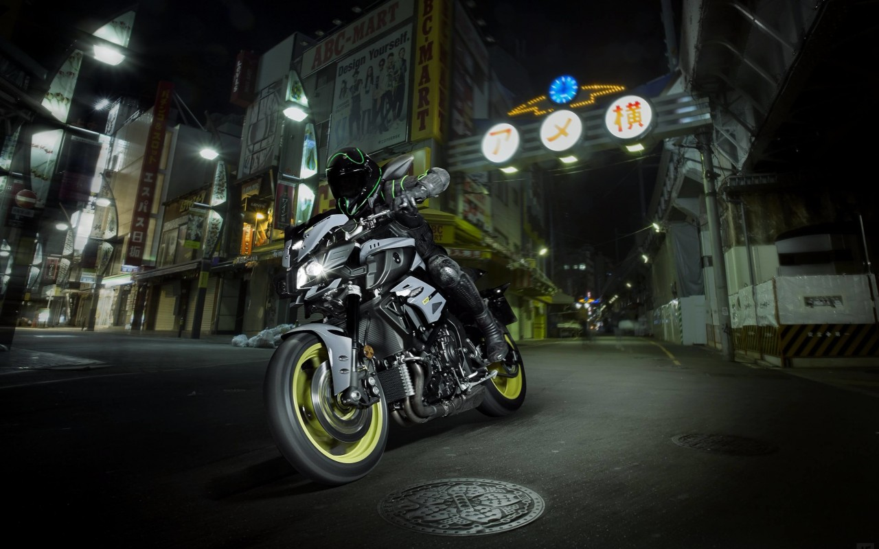 Yamaha MT-10 Superbike Wallpaper for Desktop 1280x800
