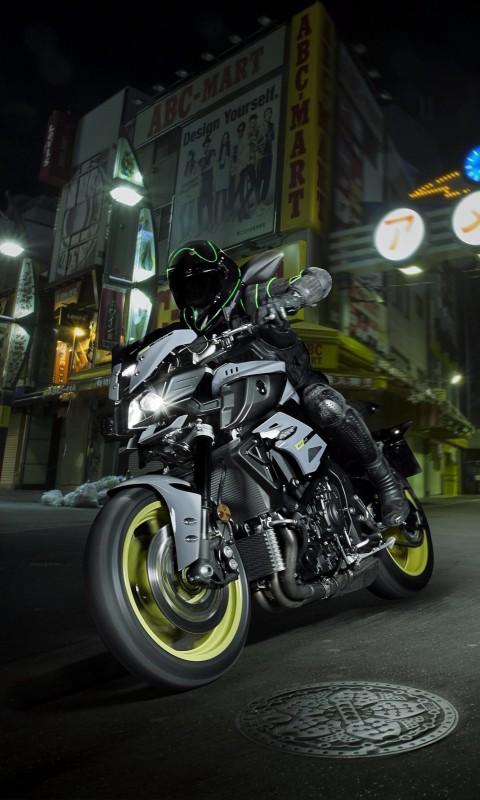 Yamaha MT-10 Superbike Wallpaper for HTC Desire HD