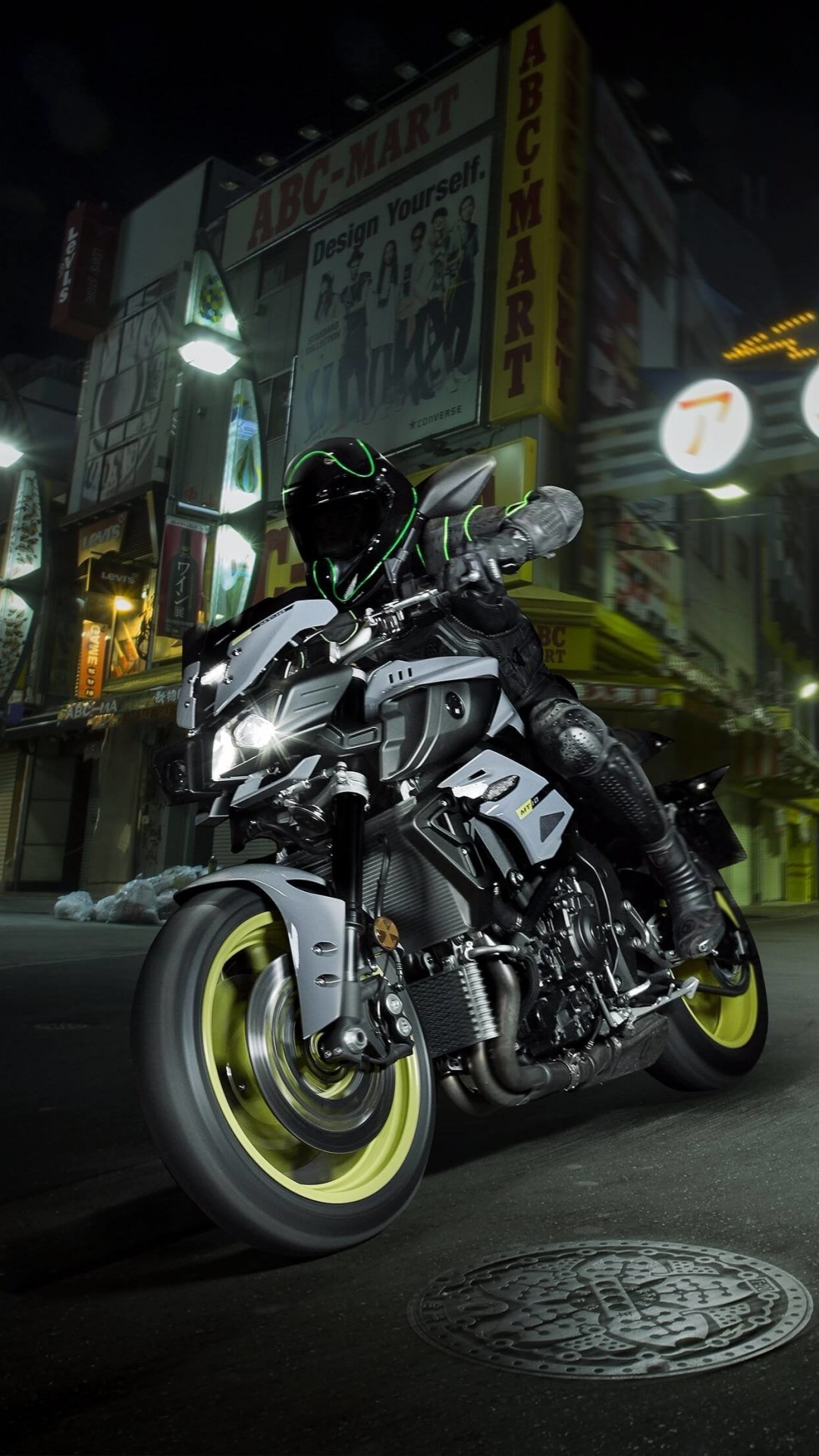 Yamaha MT-10 Superbike Wallpaper for HTC One