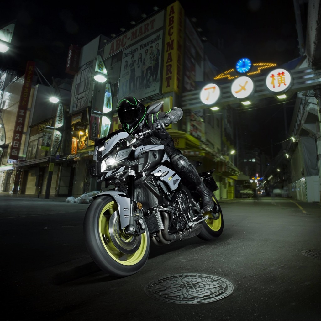 Yamaha MT-10 Superbike Wallpaper for Apple iPad