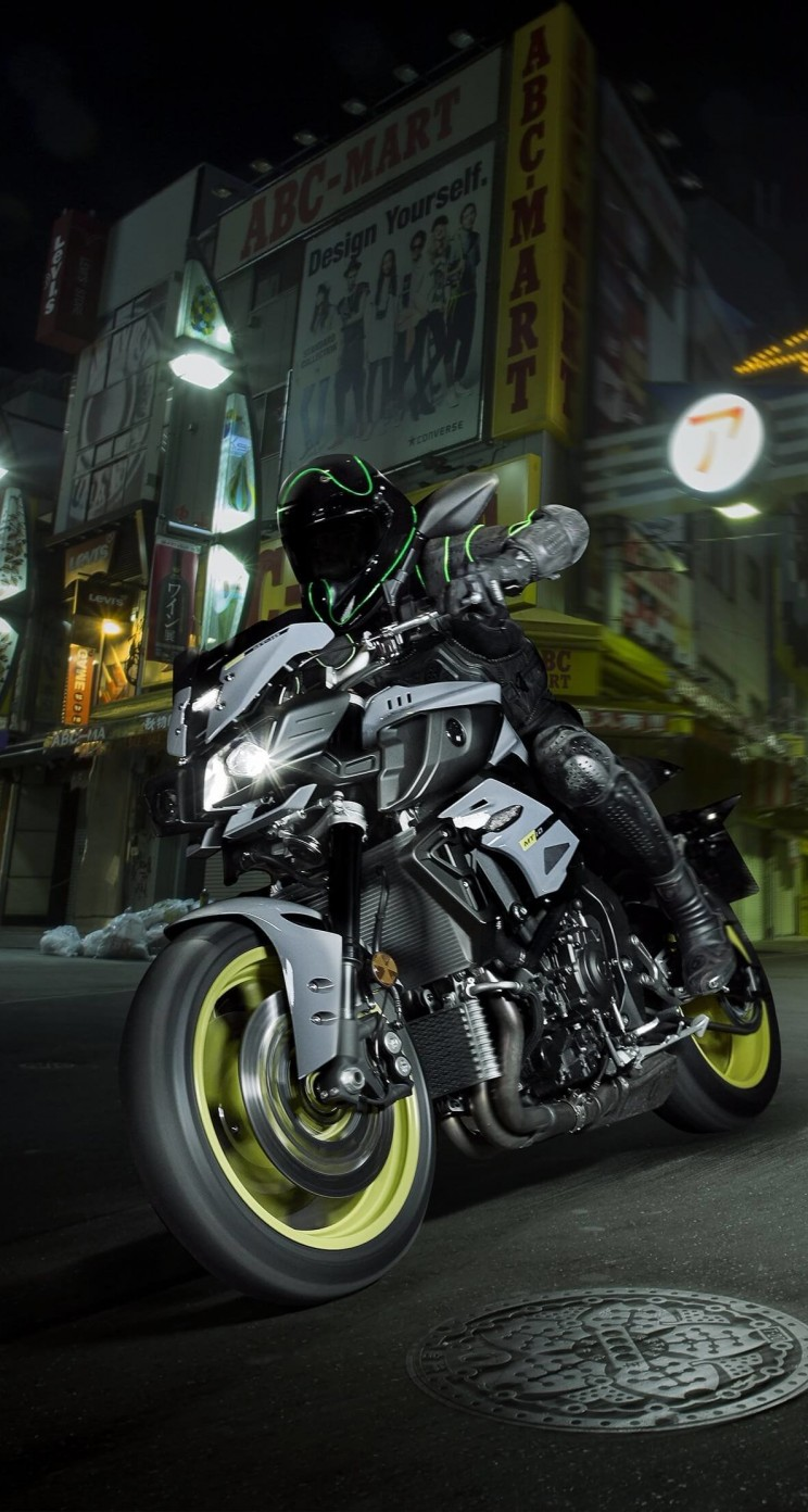 Yamaha MT-10 Superbike Wallpaper for Apple iPhone 5 / 5s