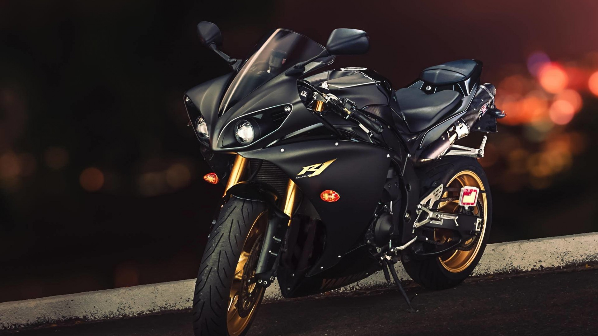 Yamaha YZF-R1 Wallpaper for Desktop 1920x1080