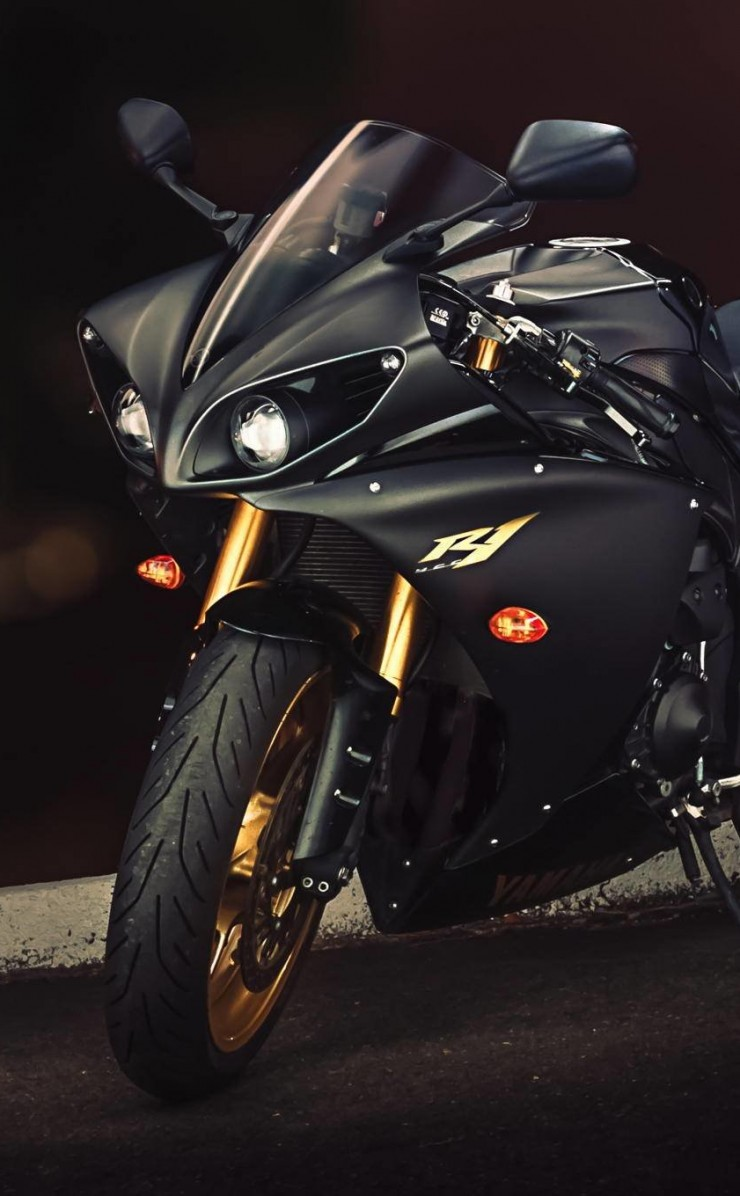 Yamaha YZF-R1 Wallpaper for Apple iPhone 4 / 4s