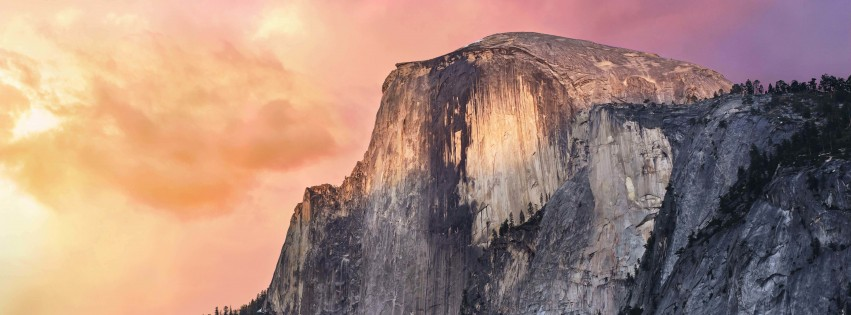 Yosemite Wallpaper for Social Media Facebook Cover