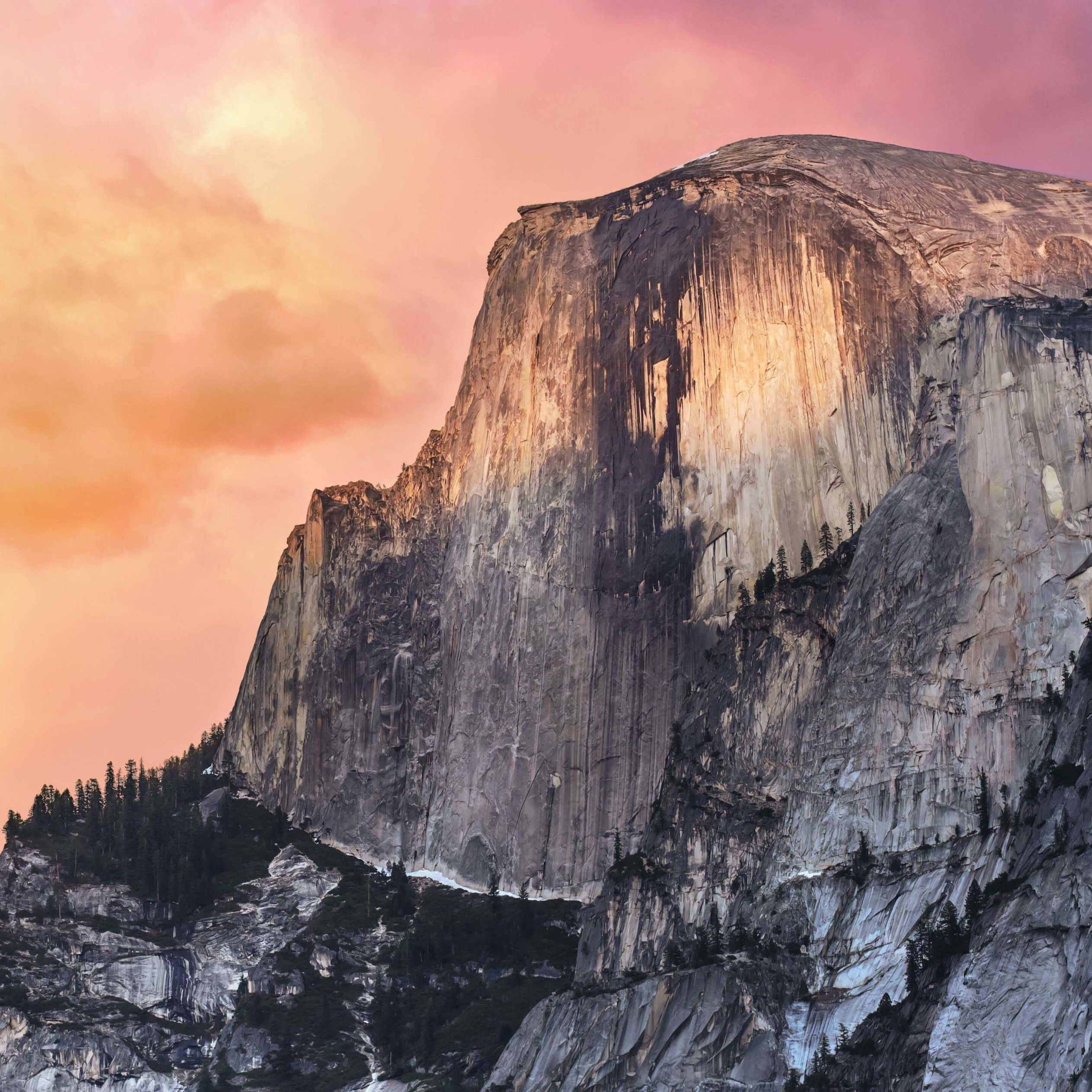 Yosemite Wallpaper for Apple iPad 4
