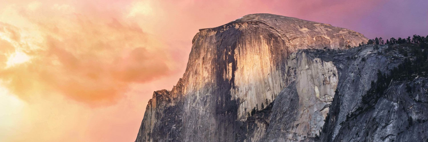 Yosemite Wallpaper for Social Media Twitter Header