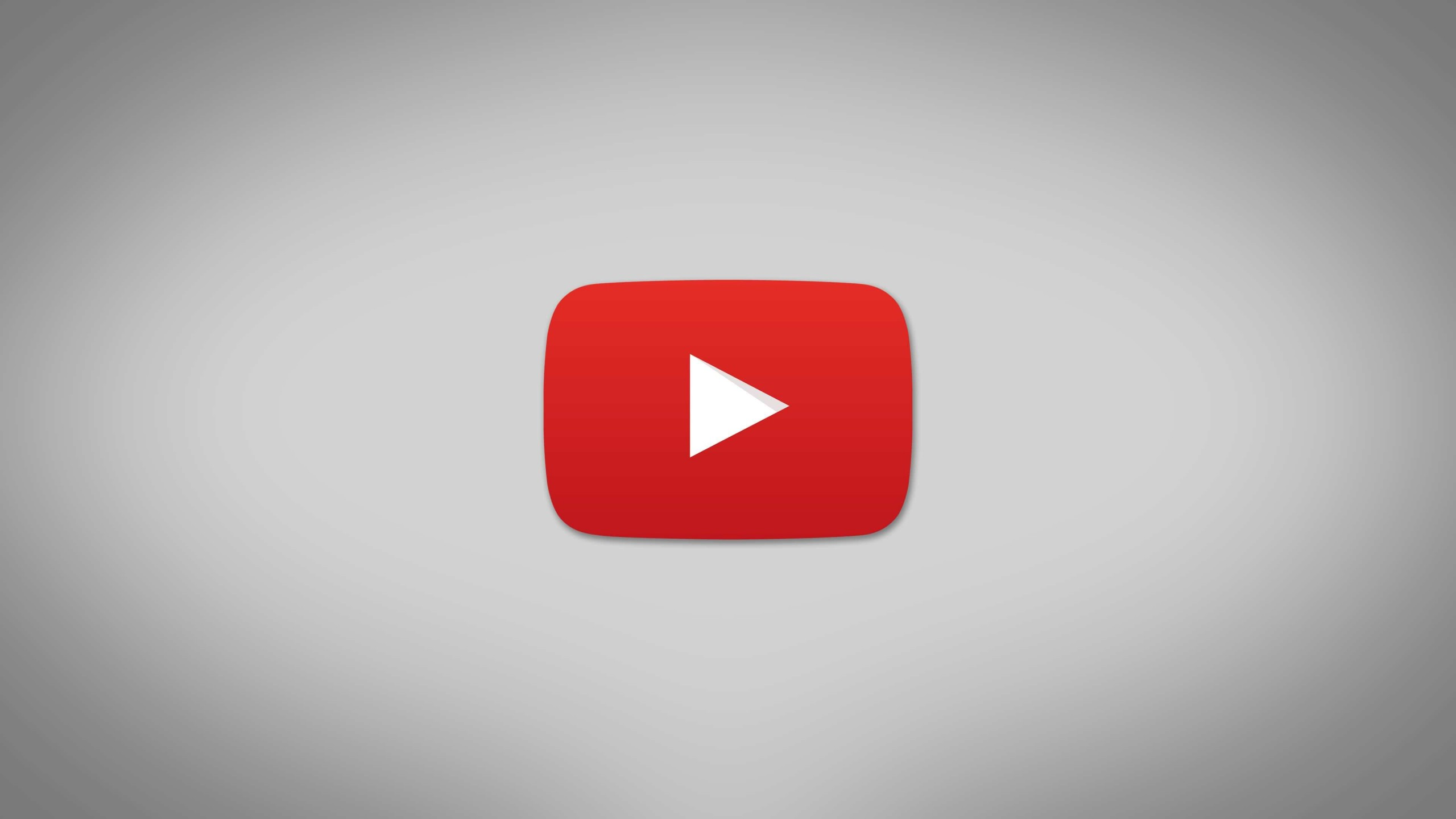 youtube logo hd wallpaper for 2560x1440 screens. Black Bedroom Furniture Sets. Home Design Ideas