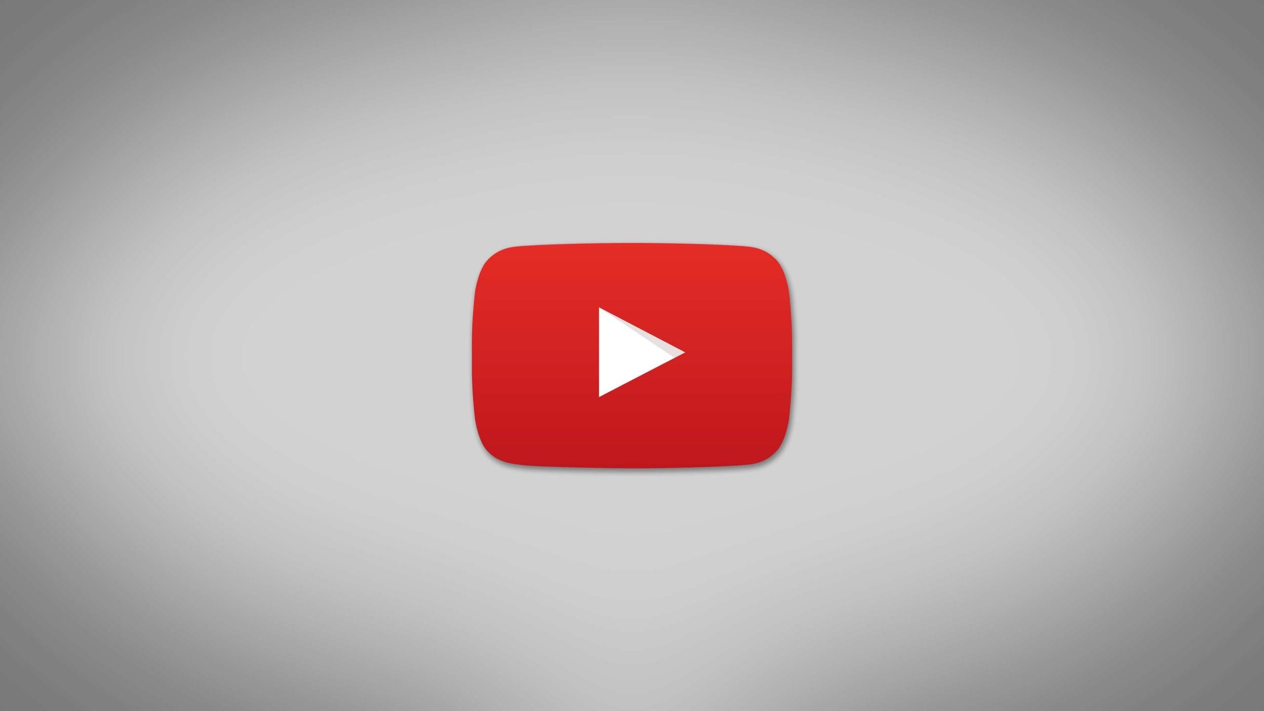YouTube Logo HD wallpaper for 2560x1440 screens ...