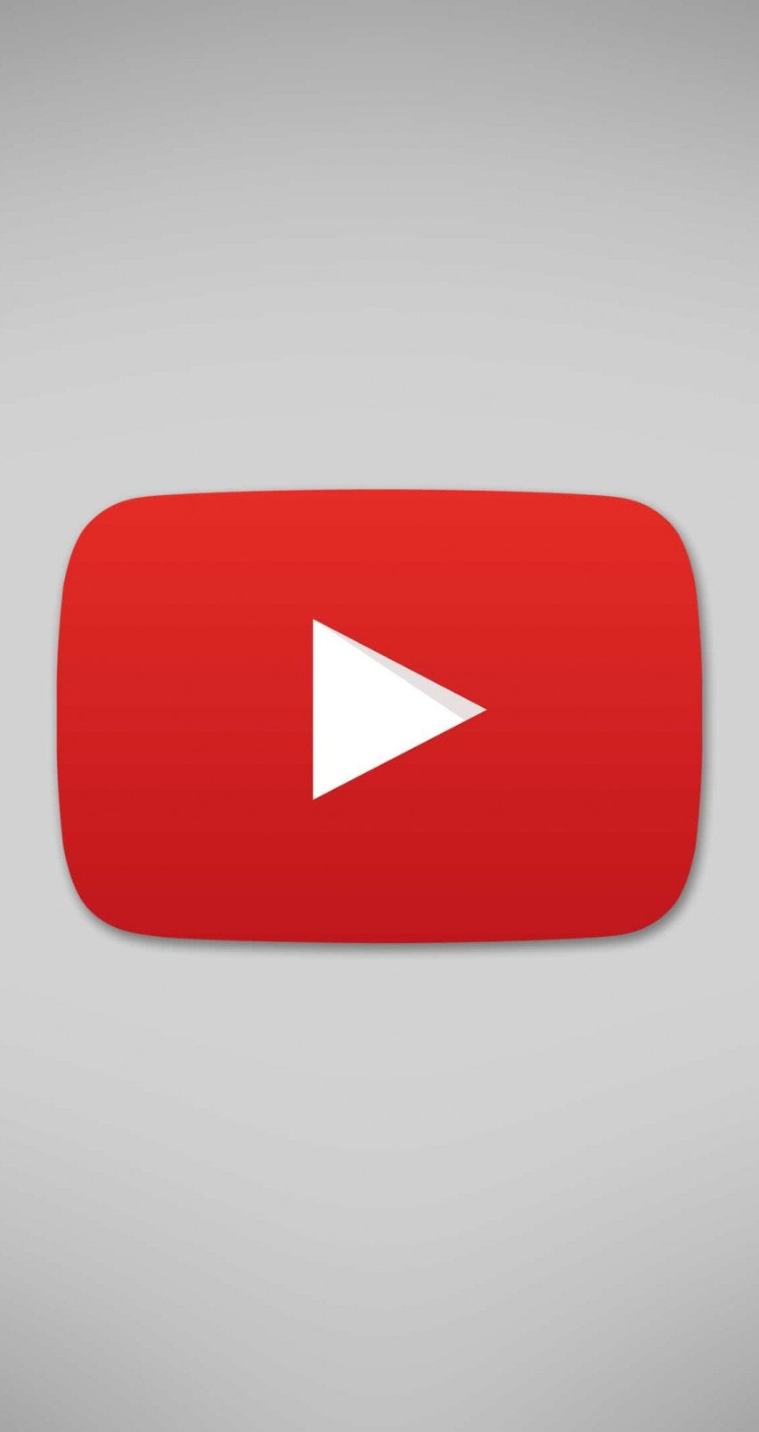 Youtube Logo Makeup: YouTube Logo HD Wallpaper For IPhone 6 / 6s Screens